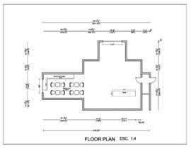 #9 for Create a Motel Hallway in AutoCad by Ortimi2020