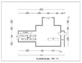 nº 9 pour Create a Motel Hallway in AutoCad par Ortimi2020