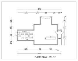 nº 10 pour Create a Motel Hallway in AutoCad par Ortimi2020