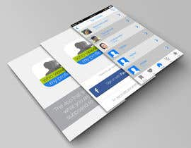 "fahrurs tarafından Design an App Mockup for ""Who Viewed My Profile"" için no 17"