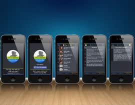 "NikhilChirde tarafından Design an App Mockup for ""Who Viewed My Profile"" için no 20"