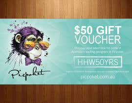 #7 for Design A Voucher by teAmGrafic