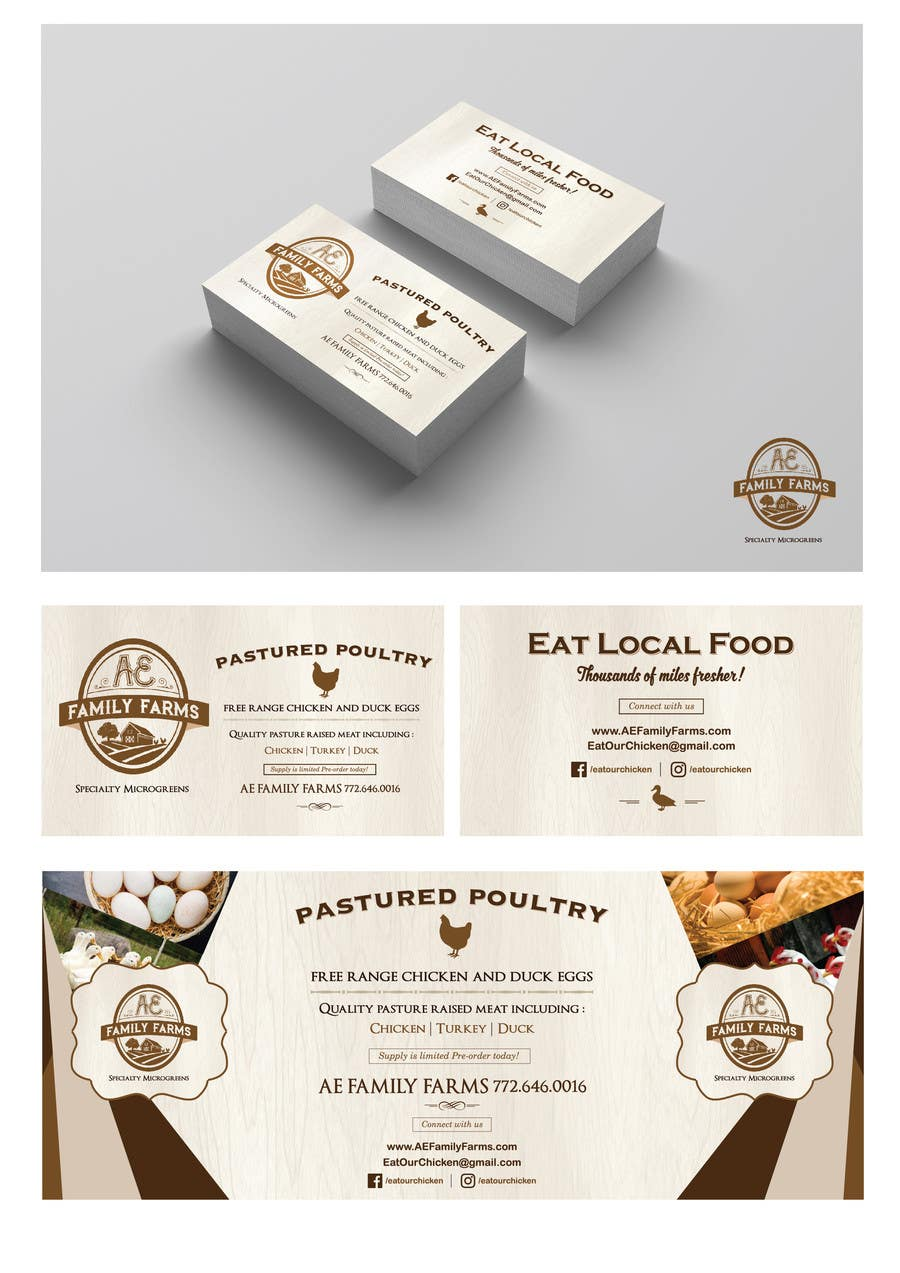 Entry #27 by azwanzakariah for Design Business Card & Banner for ...