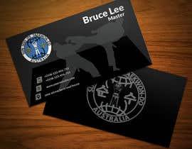 nº 165 pour Design a Business Card For a Martial Art Dojang par redonemuaz