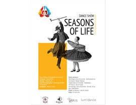nº 32 pour Design poster for Dance show par kilibayeva