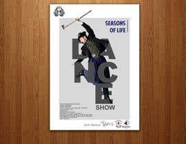 nº 35 pour Design poster for Dance show par sairalatief