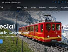 nº 3 pour Redesign of a travel agency website par aryanchaurasia