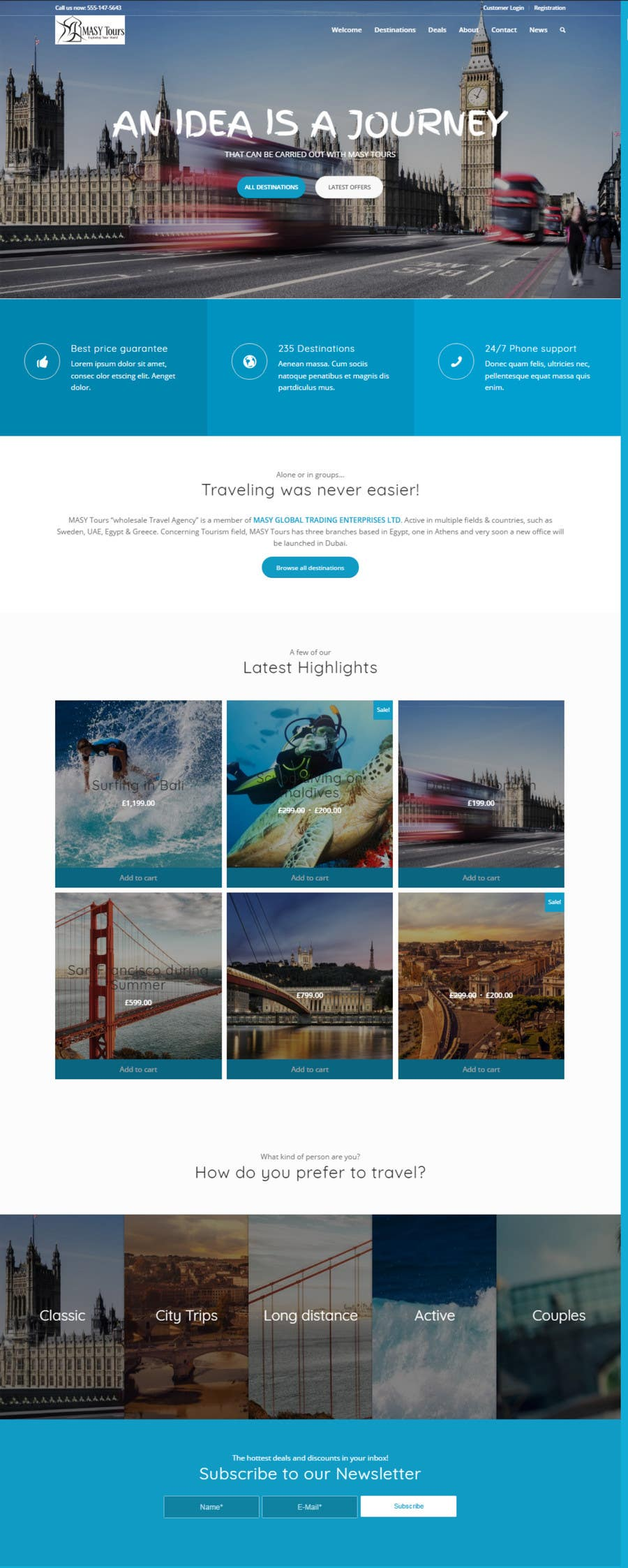 Travel Agency Website >> Entry 22 By Imohchard For Redesign Of A Travel Agency
