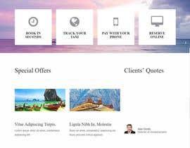 nº 5 pour Redesign of a travel agency website par neti5