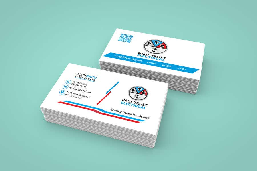 Entry 133 by taslimatitir for design some business cards for an contest entry 133 for design some business cards for an electrical business colourmoves