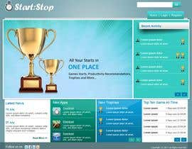 #1 cho Website Design for startstop.me bởi rahulsandleya