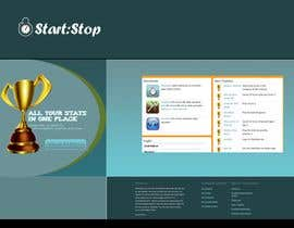 #31 za Website Design for startstop.me od Khimraj