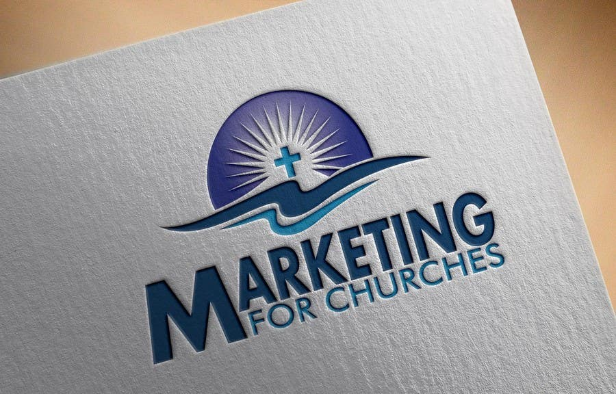 """Proposition n°6 du concours Design a Logo for """"Marketing for Churches"""""""