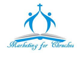 "nº 4 pour Design a Logo for ""Marketing for Churches"" par ClarkGuevarra"