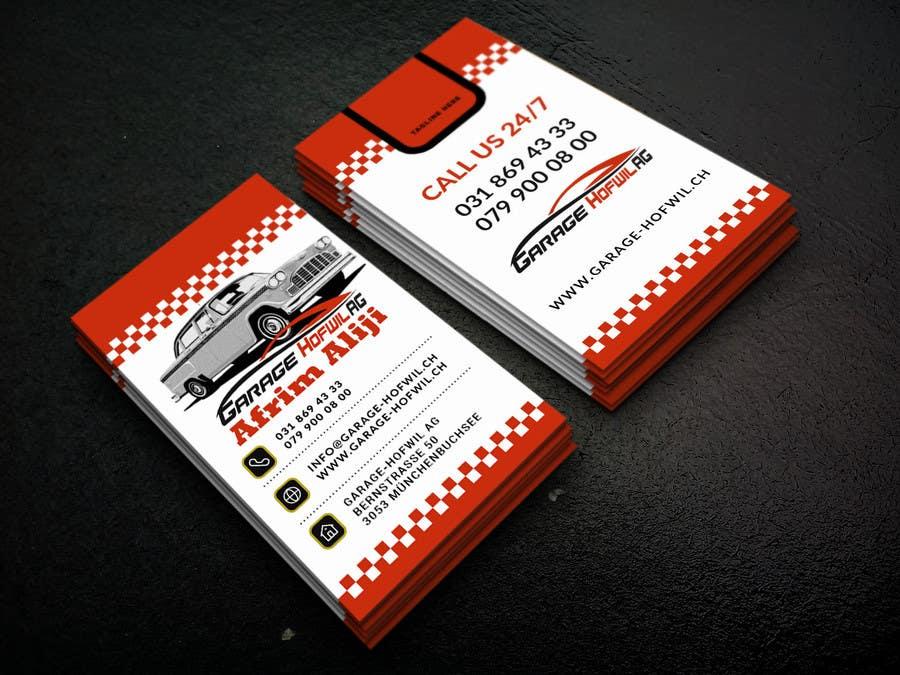 Proposition n°15 du concours Design von Visitenkarten für Car Dealer