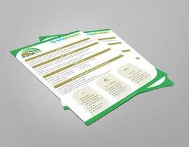 Nro 35 kilpailuun Design a Brochure käyttäjältä zestfreelancer