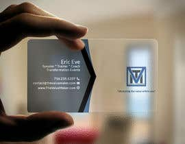 #83 for Design ONE-SIDED Business Cards for Clear Plastic by sujan18