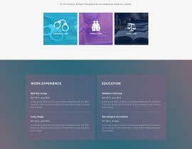 nº 16 pour Design a Website Mock up for attorney par DragosFlorian