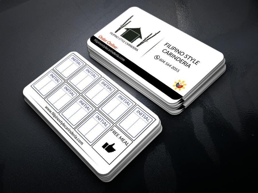 Kilpailutyö #                                        3                                      kilpailussa                                         Design some Business Stamp Cards