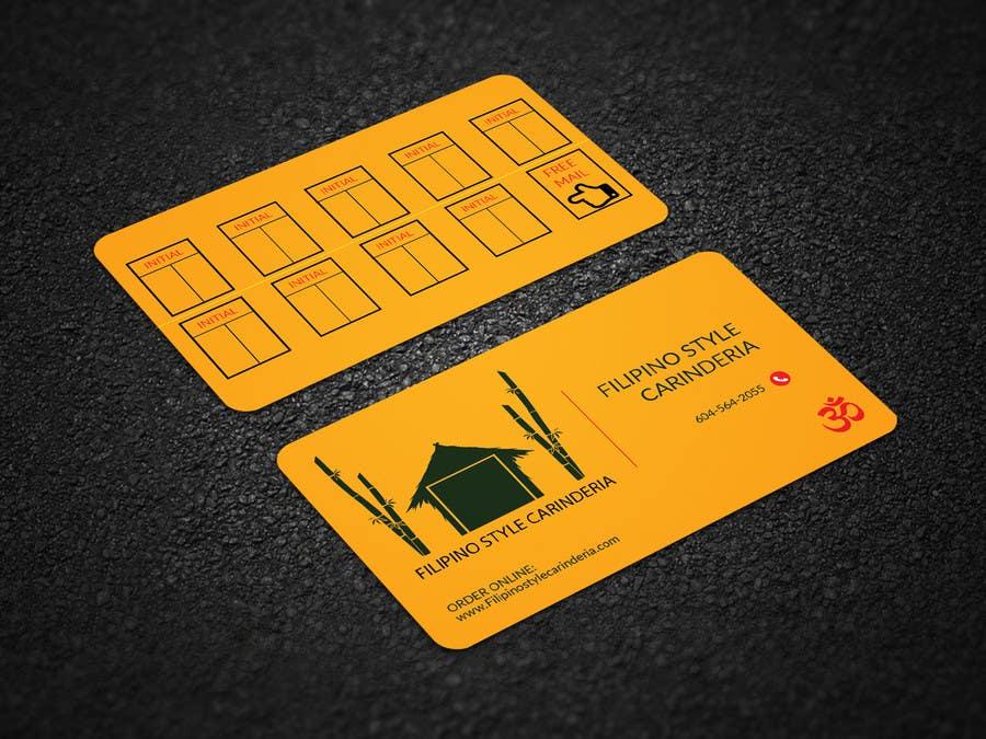 Kilpailutyö #                                        7                                      kilpailussa                                         Design some Business Stamp Cards