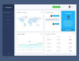 #13 , Re-design UI/UX for a Marketplace Dashboard 来自 akarofylakis