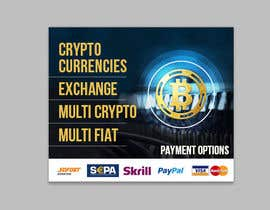 #20 for Banner Design for Cryptocurrencie Exchange by chandrabhushan88