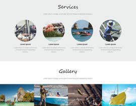 #11 for Design a Website Template with a Fishing Theme by saidesigner87