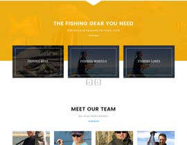 #24 for Design a Website Template with a Fishing Theme by SALESDGWEB