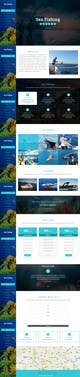 Contest Entry #17 thumbnail for Design a Website Template with a Fishing Theme