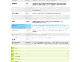Nro 13 kilpailuun Design and CSS / HTML for table käyttäjältä savirastudio