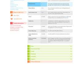 Nro 14 kilpailuun Design and CSS / HTML for table käyttäjältä savirastudio