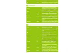 Nro 9 kilpailuun Design and CSS / HTML for table käyttäjältä tundebabzy