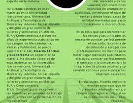 #3 para Brochure for Marketing Workshop de eugenialcala