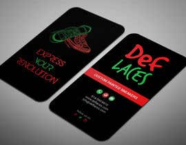 #35 for Def Laces Business Card-Redesign by smartghart