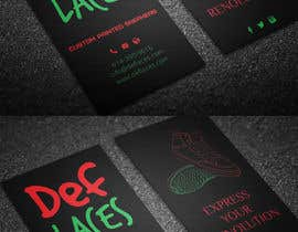 nº 30 pour Def Laces Business Card-Redesign par rxroy