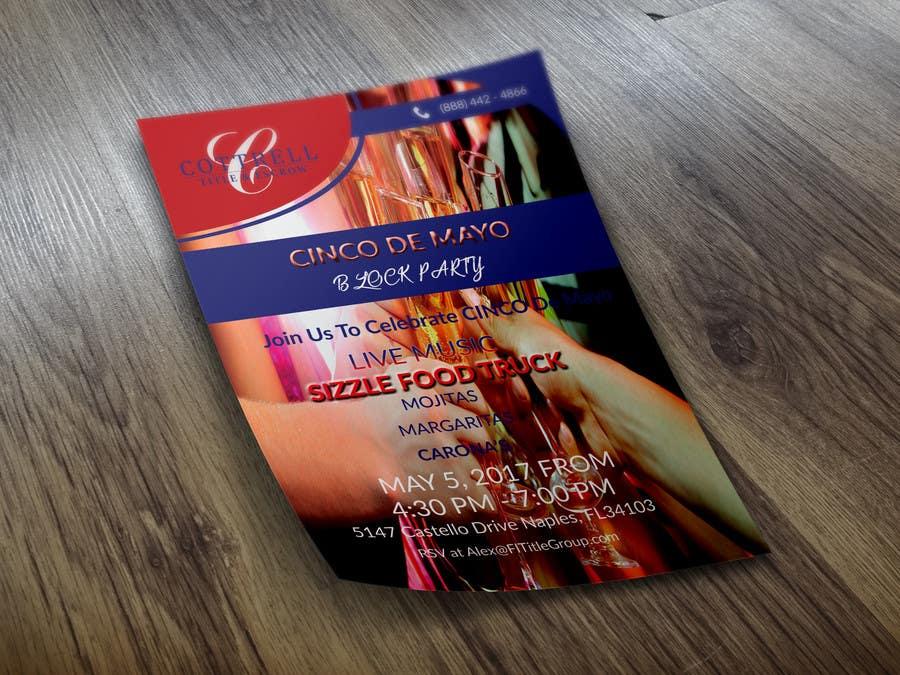 Kilpailutyö #16 kilpailussa Design a Flyer