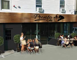 Nro 4 kilpailuun CREATIVE  DESIGN  FOR  PIZZA  CAFE  APPEARANCE käyttäjältä scottgamley