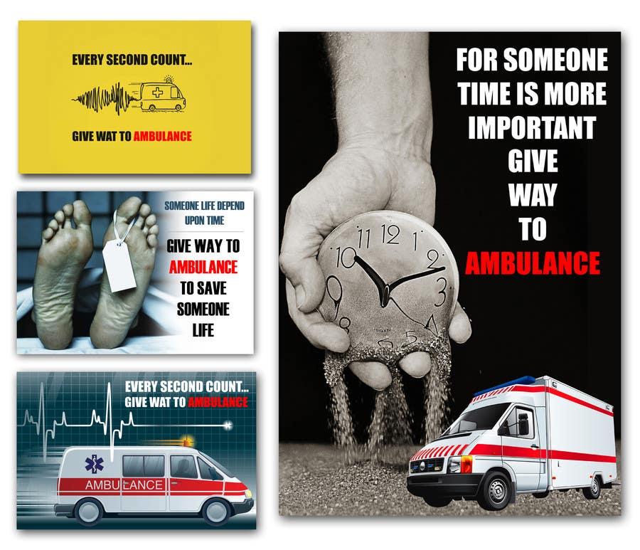 Proposition n°35 du concours Ambulance Poster Designing