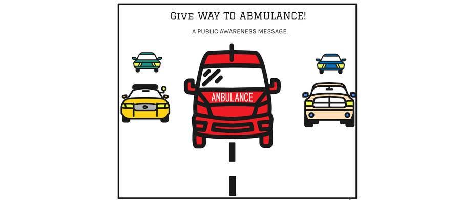 Proposition n°15 du concours Ambulance Poster Designing