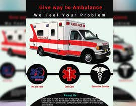 #10 for Ambulance Poster Designing by Rayhan2020