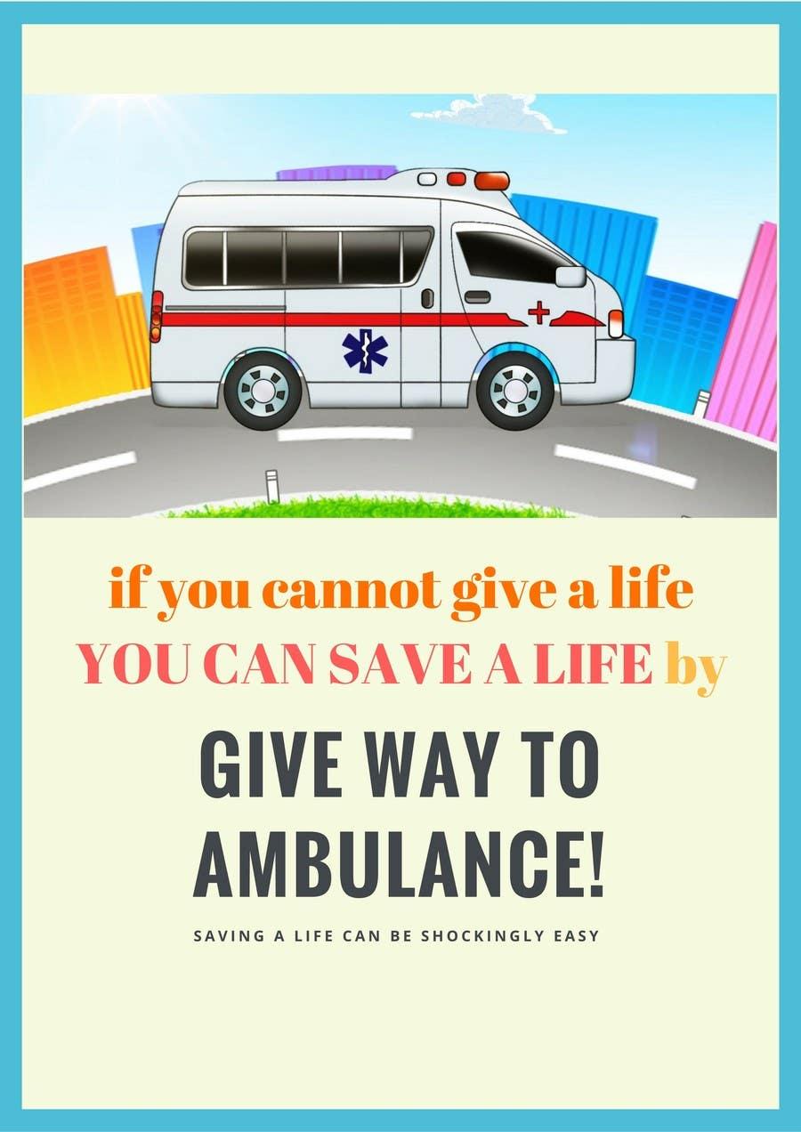 Proposition n°18 du concours Ambulance Poster Designing