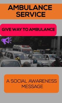 Proposition n°34 du concours Ambulance Poster Designing