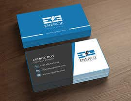 #99 for business card ESG by AbuHanif44