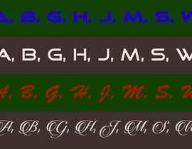 nº 177 pour Font Logo (Urgent) par AR1069