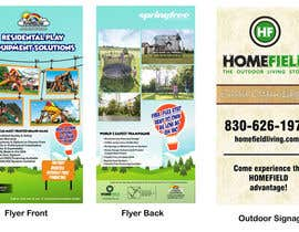 #3 para Graphic Design - Outdoor Signage & Flyer de eriknanda97