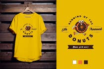 Proposition n° 46 du concours Graphic Design pour Design a T-shirt for the 5th Annual Running of the Donuts