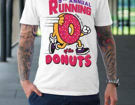 nº 34 pour Design a T-shirt for the 5th Annual Running of the Donuts par samhaque2