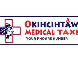 nº 93 pour Medical Taxi Logo par nataliadioro