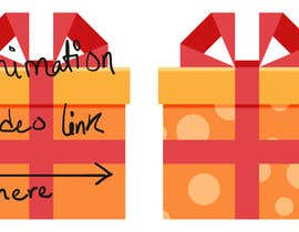 nº 21 pour 2D Gift Box Icon Animation par ShivamSinghBhati