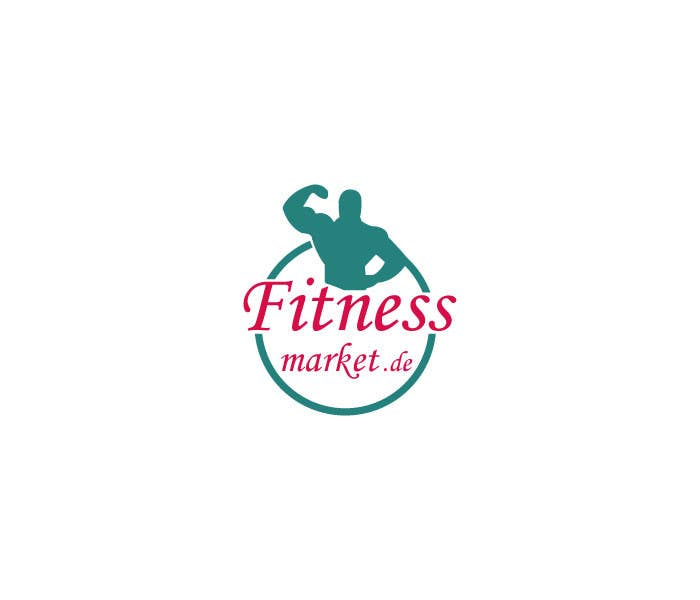 Kilpailutyö #81 kilpailussa Logo design for a fitness website